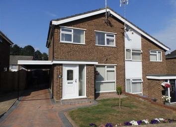 Thumbnail 3 bed semi-detached house for sale in Malmesbury Close, Ipswich, Suffolk