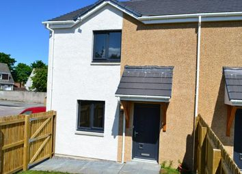 Thumbnail 2 bed semi-detached house for sale in 1 Pilmuir Gardens, Forres