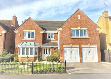 Thumbnail 5 bed detached house for sale in Thompson Close, East Leake, Loughborough