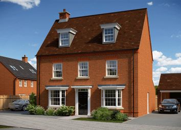 "Thumbnail 5 bedroom detached house for sale in ""Emerson"" at Fox Lane, Green Street, Kempsey, Worcester"