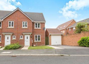 Thumbnail 3 bed semi-detached house for sale in Bracken Ghyll Close, Buckshaw Village, Chorley, Lancashire