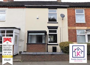Thumbnail 2 bed terraced house to rent in Littleworth Road, Hednesford, Cannock
