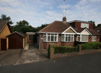 Thumbnail 1 bed semi-detached bungalow for sale in Thornby Drive, Kingsthorpe, Northampton