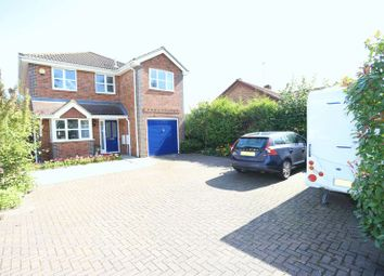 Thumbnail 4 bed detached house for sale in Crockhamwell Road, Woodley, Reading