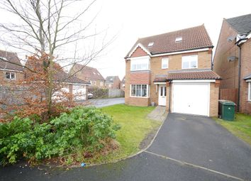 Thumbnail 5 bed detached house for sale in The Limes, Forest Hall, Newcastle Upon Tyne