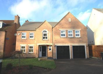 Thumbnail 5 bed detached house for sale in Gleneagles Drive, Greylees, Sleaford
