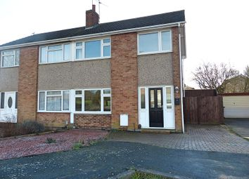 Thumbnail 3 bedroom semi-detached house for sale in Hawthorn Road, Yaxley, Peterborough