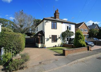 Thumbnail 2 bed semi-detached house for sale in Send Marsh, Ripley, Woking