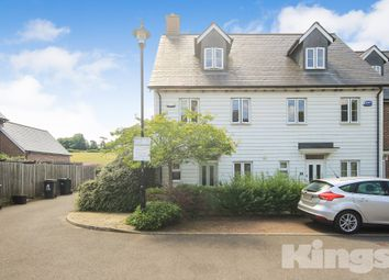 Thumbnail 3 bed end terrace house to rent in Broomfield, Bells Yew Green, Tunbridge Wells