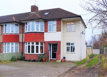 Thumbnail 4 bed semi-detached house for sale in Gerard Avenue, Hounslow