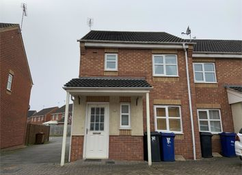 Thumbnail 3 bed end terrace house to rent in Castilla Place, Burton-On-Trent, Staffordshire