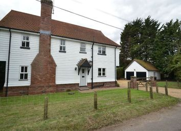 Thumbnail 3 bed detached house to rent in Lower Road, Layer Breton, Colchester
