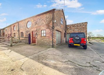 Thumbnail 3 bed barn conversion for sale in Faulkners Lane, Mobberley, Knutsford