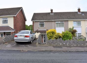 Thumbnail 3 bed semi-detached house for sale in Mulberry Avenue, West Cross, Swansea