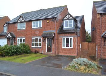 Thumbnail 3 bed semi-detached house for sale in Antony Gardner Crescent, Whitnash, Leamington Spa