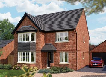 "Thumbnail 5 bed detached house for sale in ""The Oxford v1"" at Burton Road, Streethay, Lichfield"