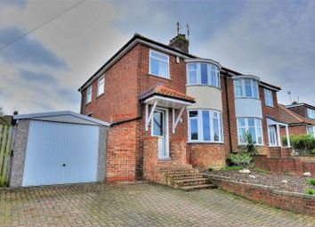Thumbnail 3 bed semi-detached house for sale in Orchard Close, Norwich