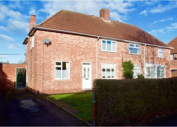 Thumbnail 3 bed semi-detached house for sale in West Furlong, Retford