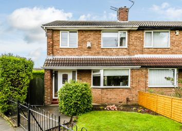 Thumbnail 3 bedroom end terrace house for sale in Marshall Close, Hartlepool