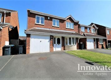 Thumbnail 4 bed detached house for sale in Mehdi Road, Oldbury