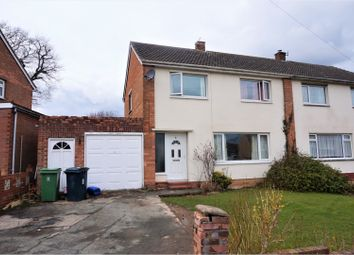 Thumbnail 3 bed semi-detached house for sale in Lansdowne Crescent, Shrewsbury