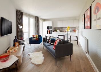 Thumbnail 1 bed flat for sale in Loampit Vale, London
