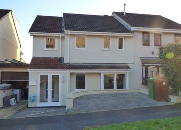 Thumbnail 4 bedroom property to rent in Delacombe Close, Plymouth, Devon