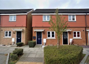 Thumbnail 2 bed end terrace house for sale in Eustace Crescent, Rochester, Kent