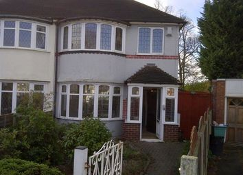 Thumbnail 3 bed semi-detached house to rent in Teddington Grove, Perry Barr, Birmingham