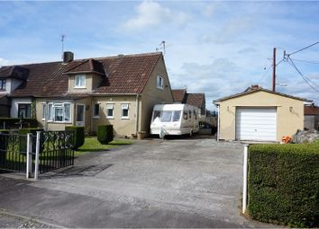 Thumbnail 2 bed semi-detached house for sale in Westacre Close, Cheddar