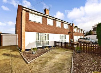 Thumbnail 3 bed semi-detached house for sale in Pippin Close, Coxheath, Maidstone, Kent