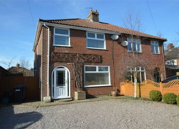 Thumbnail 3 bed semi-detached house for sale in Stratford Close, Norwich