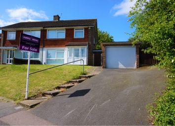 Thumbnail 3 bed semi-detached house for sale in Ruxton Close, Swanley