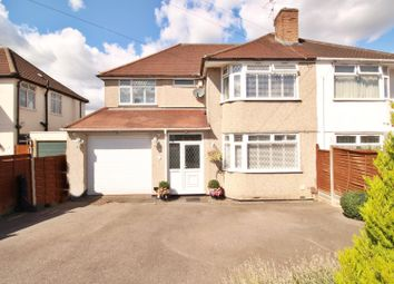 Thumbnail 5 bed semi-detached house for sale in Melrose Avenue, Borehamwood