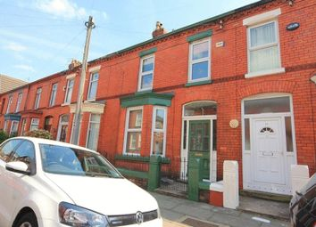 Thumbnail 3 bedroom terraced house for sale in Newborough Avenue, Mossley Hill, Liverpool