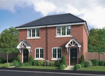 "Thumbnail 2 bed semi-detached house for sale in ""Fairmont"" at Hendrick Crescent, Shrewsbury"