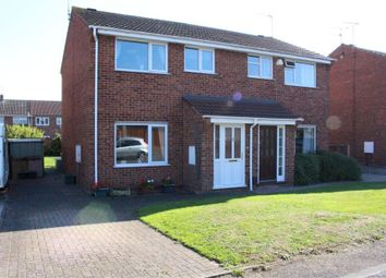Thumbnail 3 bed semi-detached house for sale in Bramley Close, Broughton Astley, Leicester