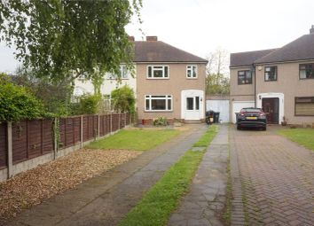 Thumbnail 3 bedroom semi-detached house to rent in Warren Road, Wilmington, Near Dartford, Kent