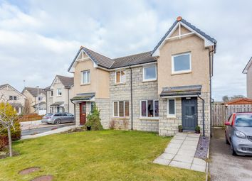 Thumbnail 3 bed semi-detached house for sale in Breckview, Pitmedden, Aberdeenshire
