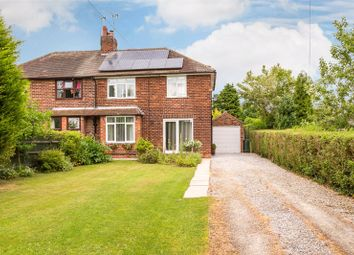 Thumbnail 3 bed semi-detached house for sale in Selby Road, Riccall, York