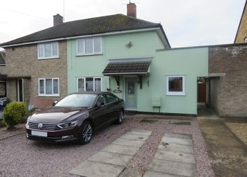 Thumbnail 2 bed semi-detached house for sale in Balmoral Avenue, Spalding