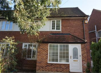Thumbnail 3 bed semi-detached house to rent in Pine Gardens, Ruislip