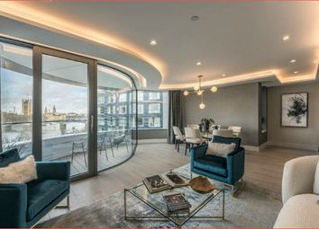 Thumbnail 3 bedroom flat to rent in The Corniche, Albert Embankment, London