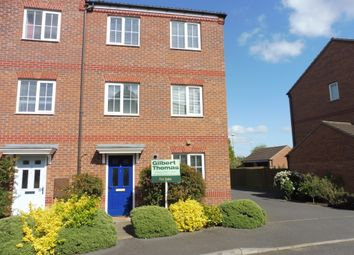 Thumbnail 4 bed end terrace house for sale in The Sidings, Oakham