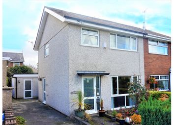 Thumbnail 4 bed semi-detached house for sale in Coetmor Road, Bangor