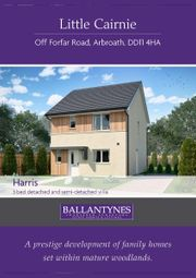 Thumbnail 3 bed semi-detached house for sale in Plot 26, The Harris, Little Cairnie, Off Forfar Road, Arbroath