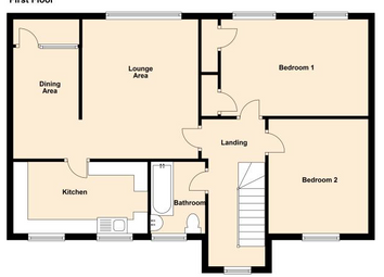 Thumbnail 2 bed flat to rent in Cheshire, Runcorn