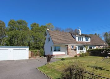 Thumbnail 3 bed semi-detached house for sale in 7 Old Evanton Road, Dingwall