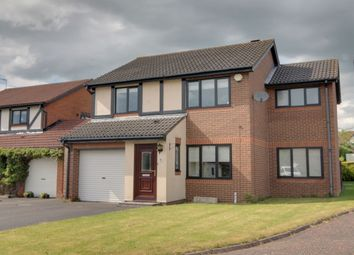 Thumbnail 3 bed detached house for sale in Meltham Court, North Walbottle, Newcastle Upon Tyne