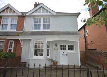 Thumbnail 4 bed semi-detached house to rent in Stanley Road, Lymington, Hampshire